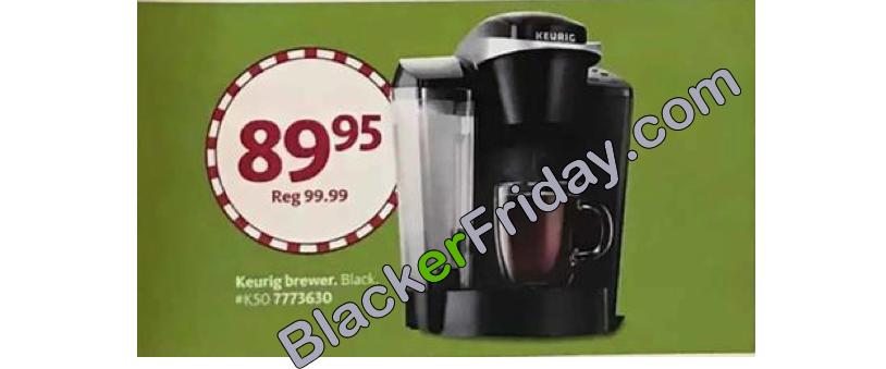 Keurig Black Friday 2018 Sale & K-Cup Coffee Brewer Deals ...