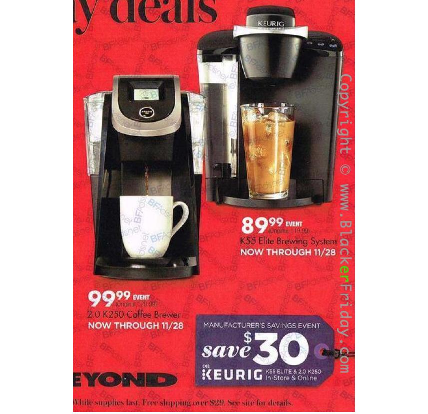 Keurig Black Friday 2018 Sale Amp K Cup Coffee Brewer Deals