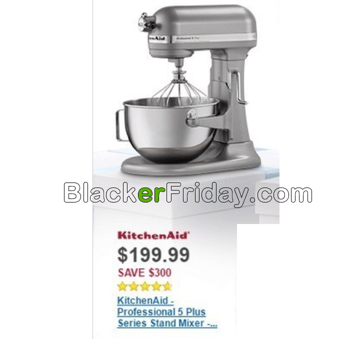 Best Deal Black Friday  Kitchen Aid Mixer