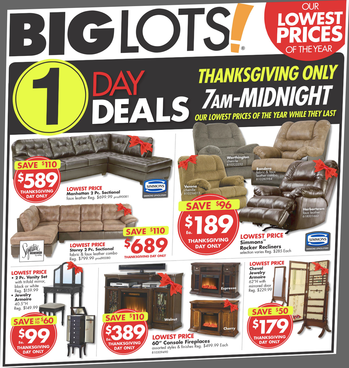 Nov 29,  · Big Lots in Tifton, Georgia has already opened. It is located on Virginia Avenue in the plaza where the public library used to be.