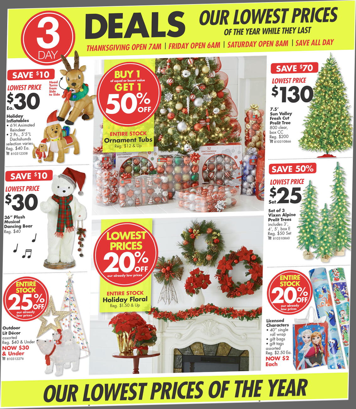 Big Lots Black Friday 2018 Sale & Furniture Deals
