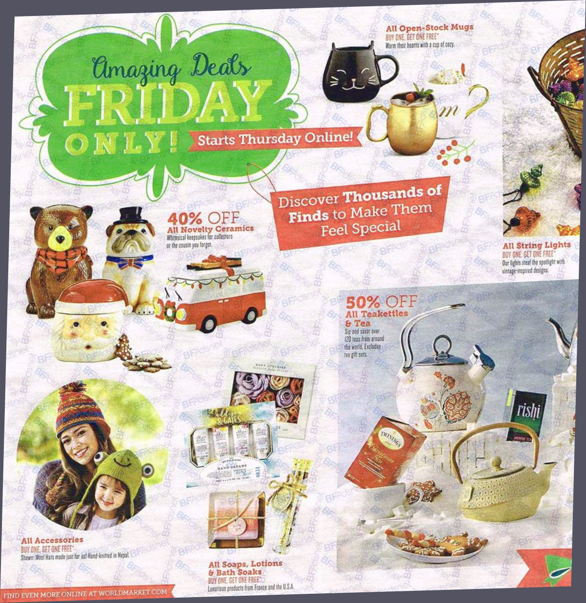 Cost Plus World Market Black Friday 2019 Sale & Ad