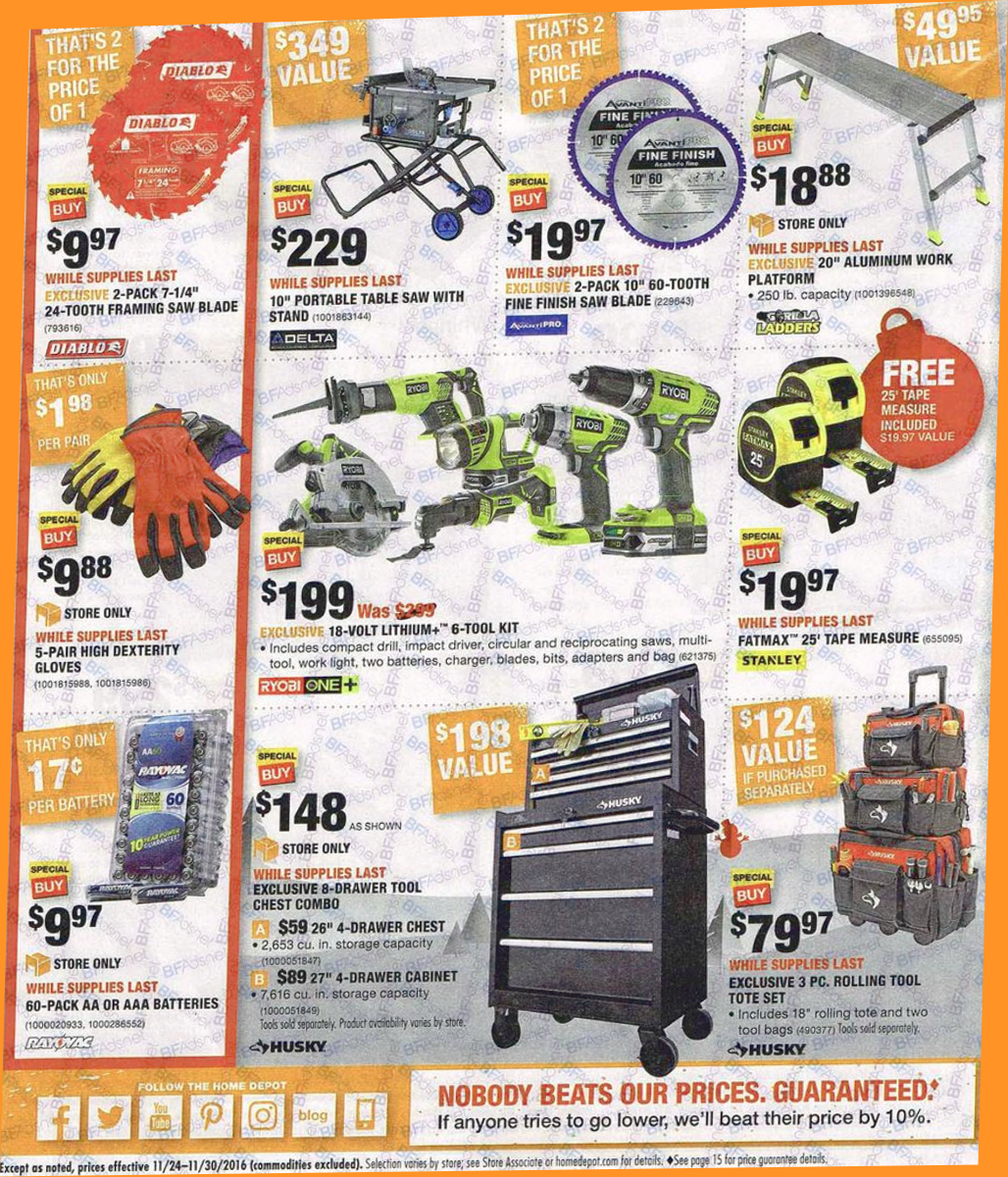 Black Friday Sale Home Depot 2019 : Strobes N More Coupon