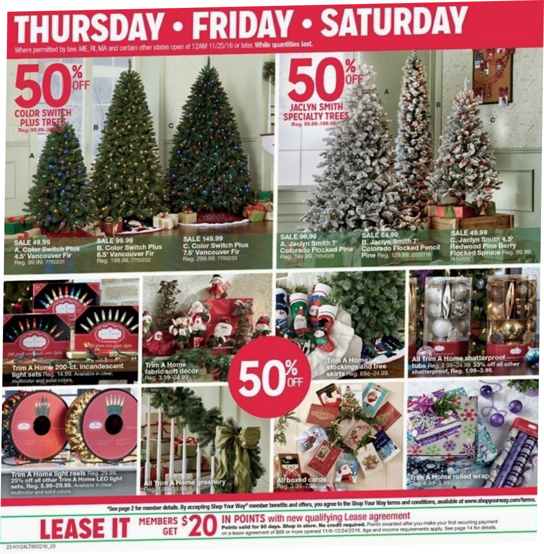 Kmart Christmas Trees Jaclyn Smith.Christmas Tree Kmart Black Friday Toffee Art