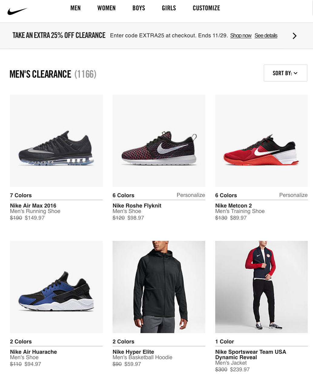Nike Black Friday 2018 Sale & Outlet Deals - Blacker Friday