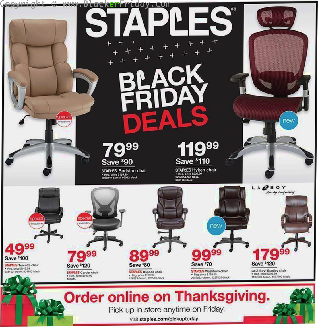 Staples Black Friday 39 Sale - What to Expect - Blacker Friday