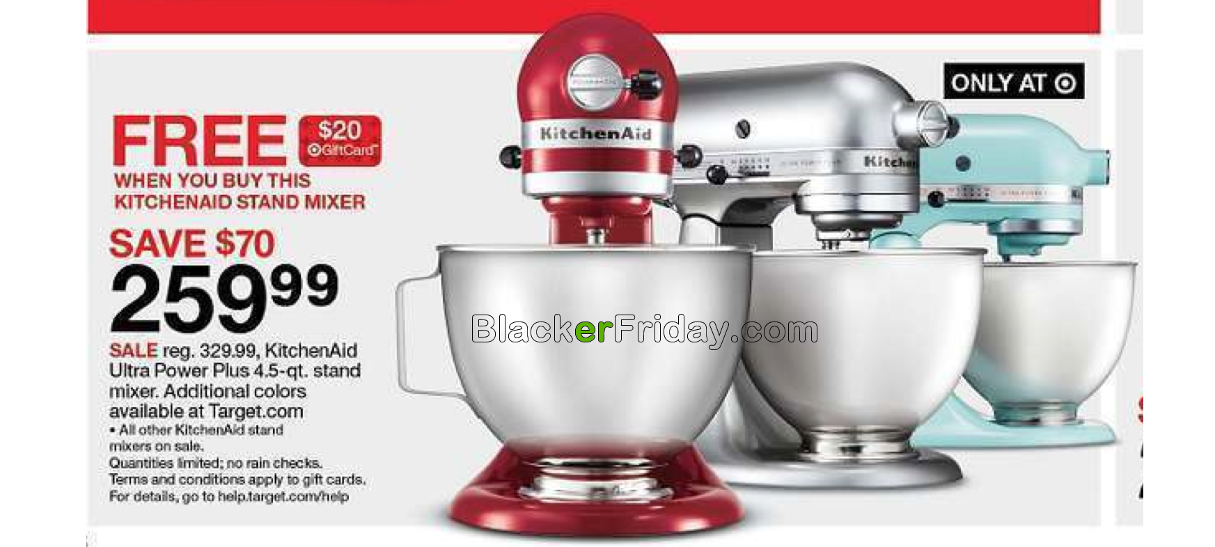 KitchenAid Mixer Black Friday 2018 Sale & Deals - Blacker Friday