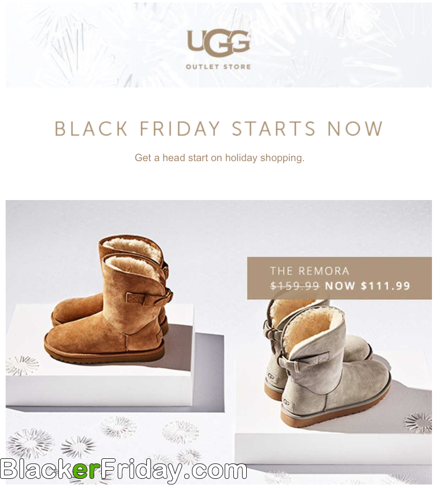 UGG Black Friday 2020 Sale - What to