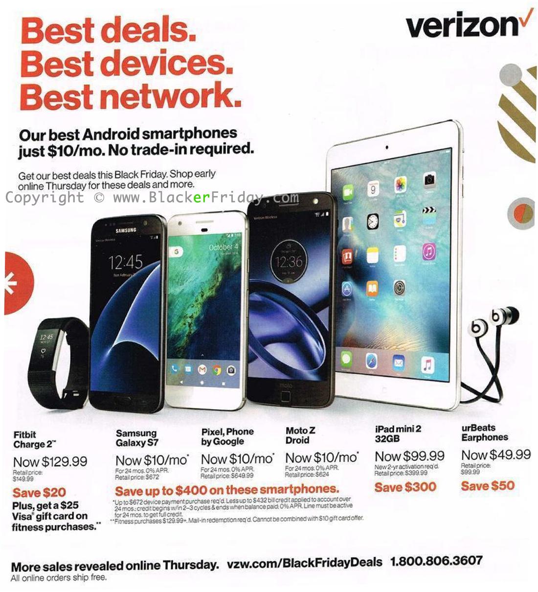 Target Black Friday 2018 Ad >> Verizon Wireless Black Friday Sale 2018 - Blacker Friday