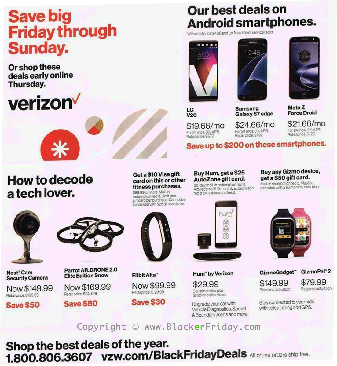 Verizon Smartphones and Tablets Deals