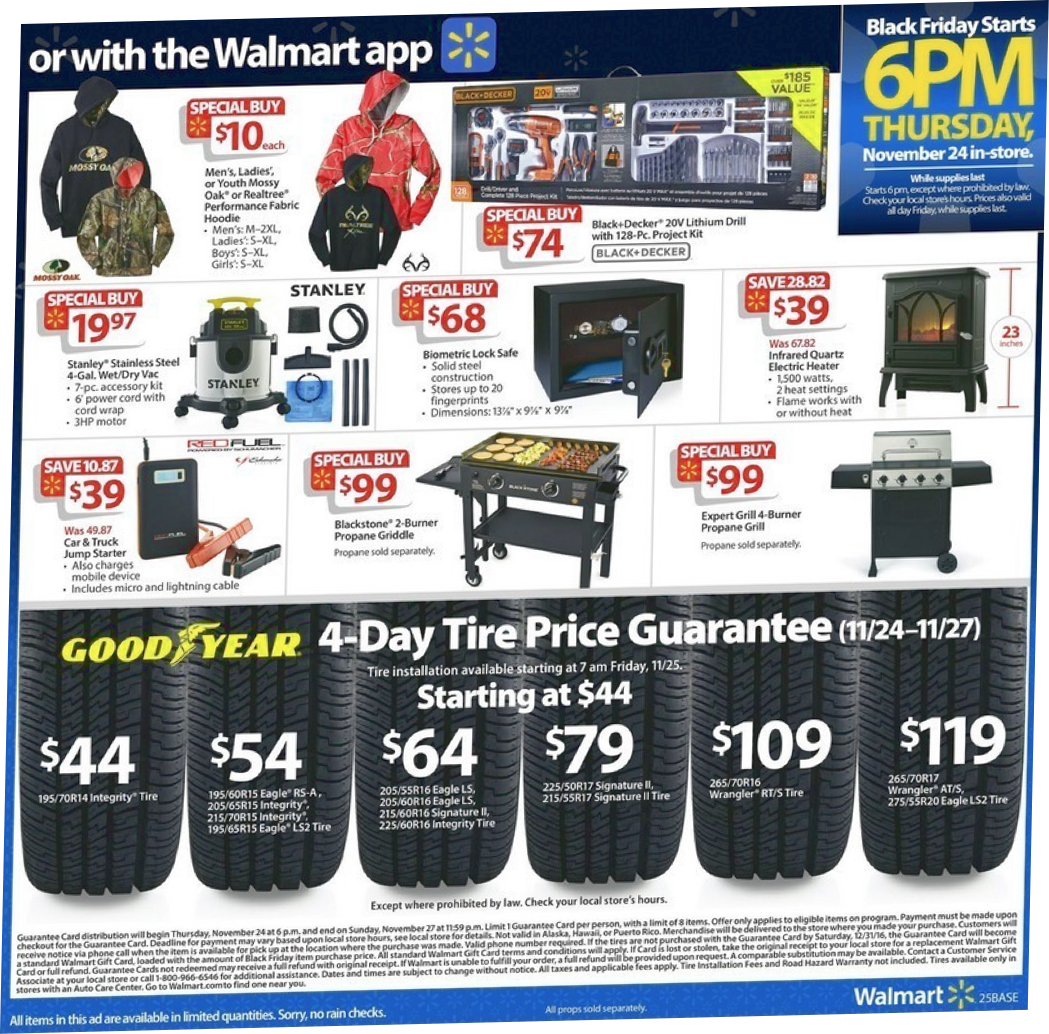 Walmart's Black Friday Ad for 2019 & Sale Details
