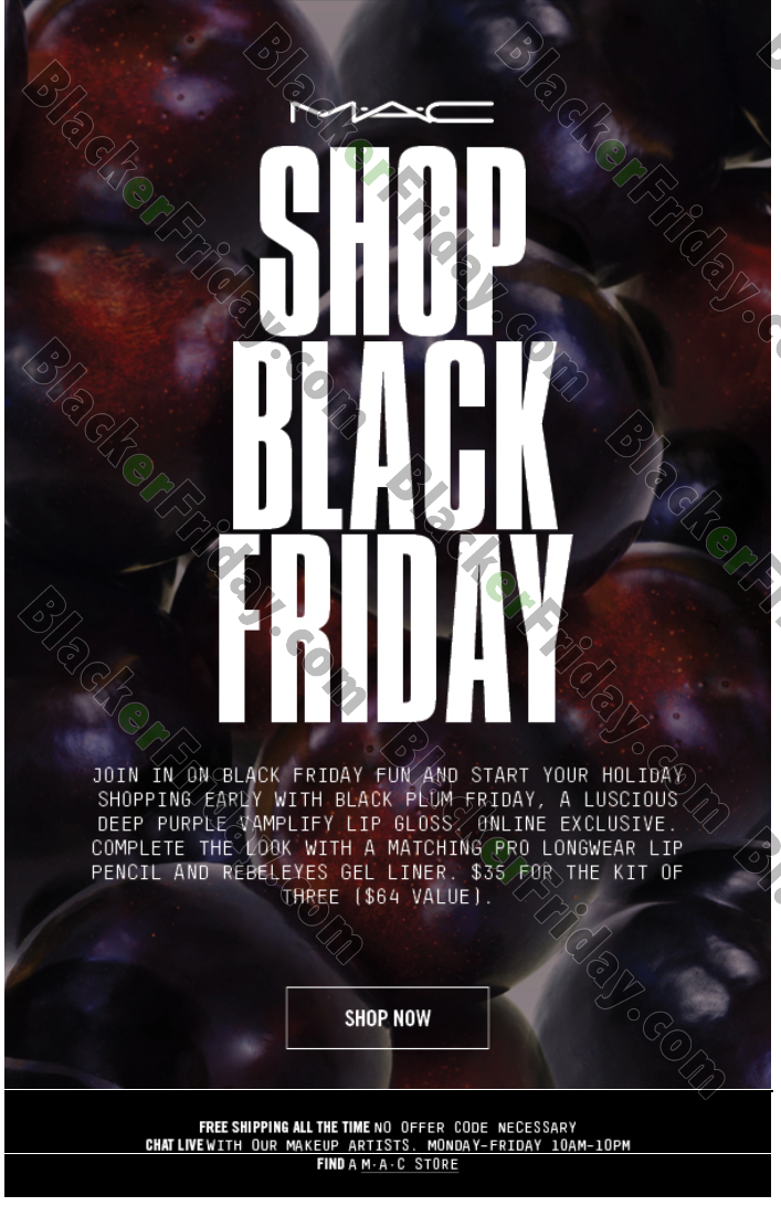 Mac Cosmetics Black Friday 2020 Sale What To Expect Blacker Friday