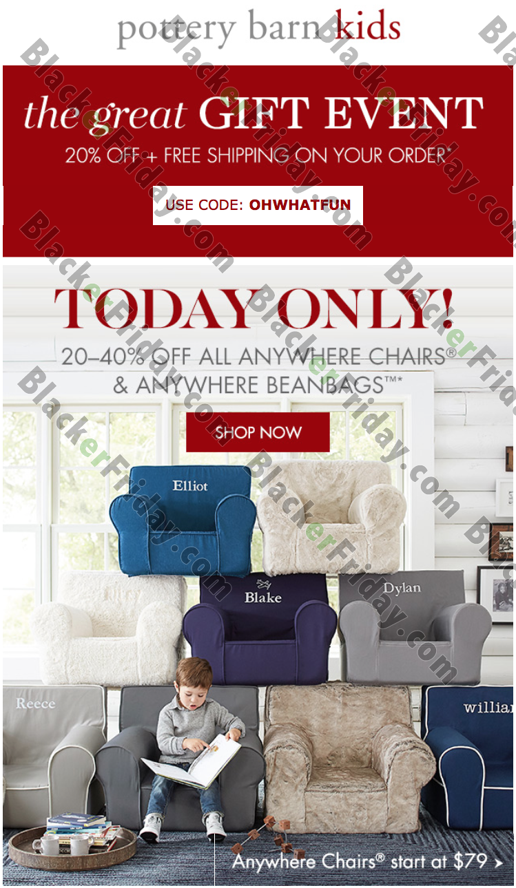 Pottery Barn Kids Black Friday 2021 Sale - What to Expect
