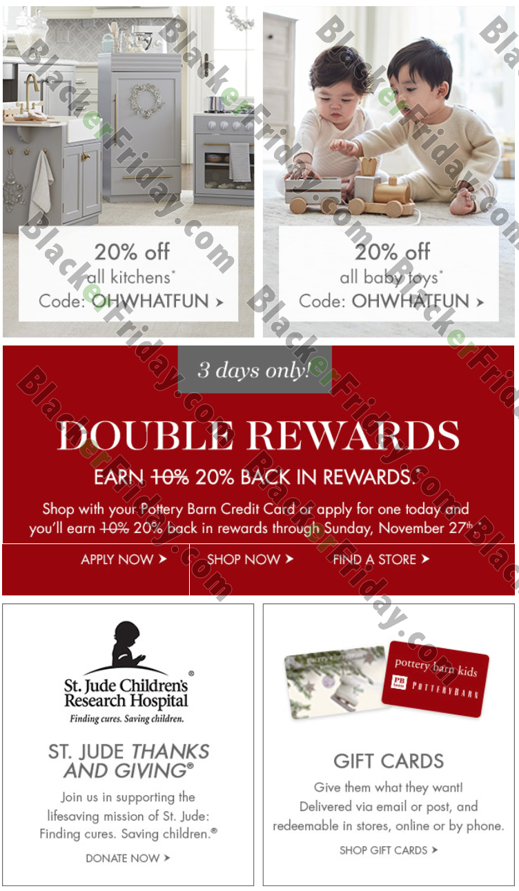Pottery Barn Kids Black Friday 2020 Sale What To Expect