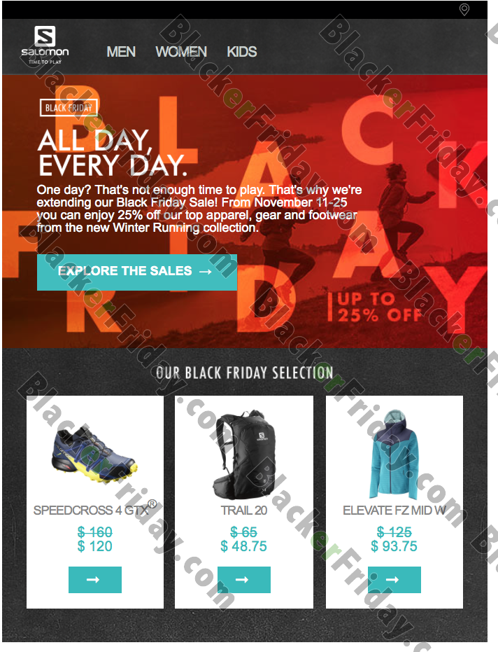 Salomon Black Friday 2020 Sale - What