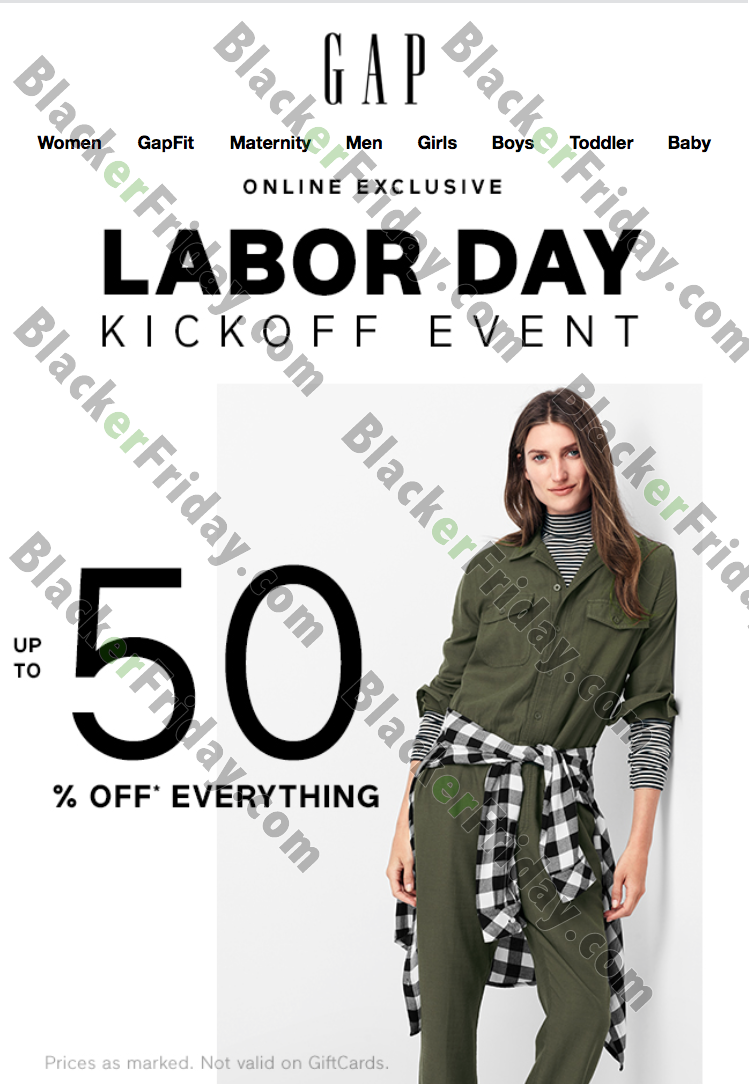 Gap offers free shipping every day when you spend $50 online. You can also conveniently shop Old Navy, Banana Republic and Athleta during the same online transaction to sometimes save shipping costs. Gap often offers additional free shipping promos and discount codes%().