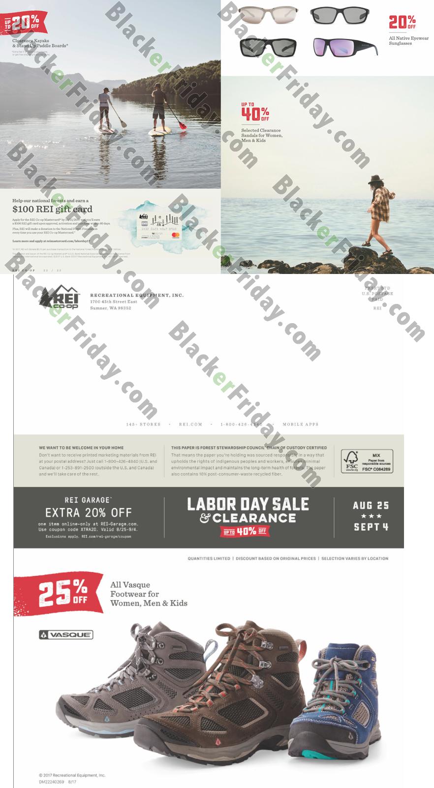 Rei Labor Day Sale 2017 Blacker Friday