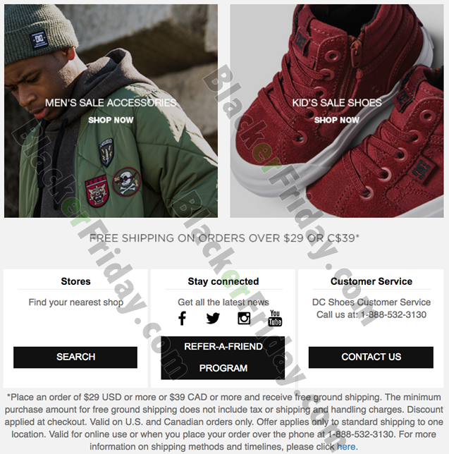 DC Shoes Cyber Monday 2020 Sale - What