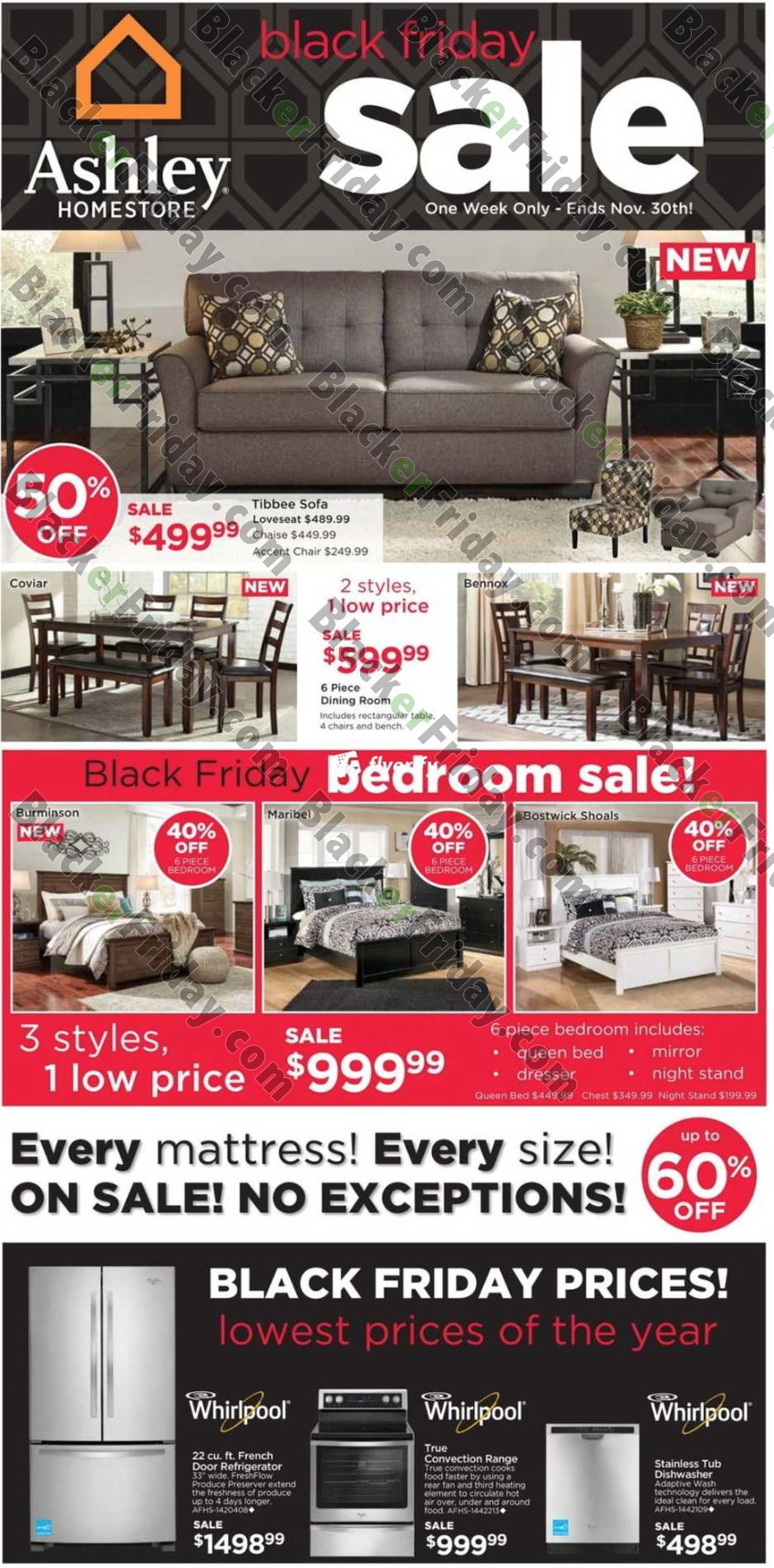 Ashley Furniture Homestore Black Friday 2019 Ad Amp Sale