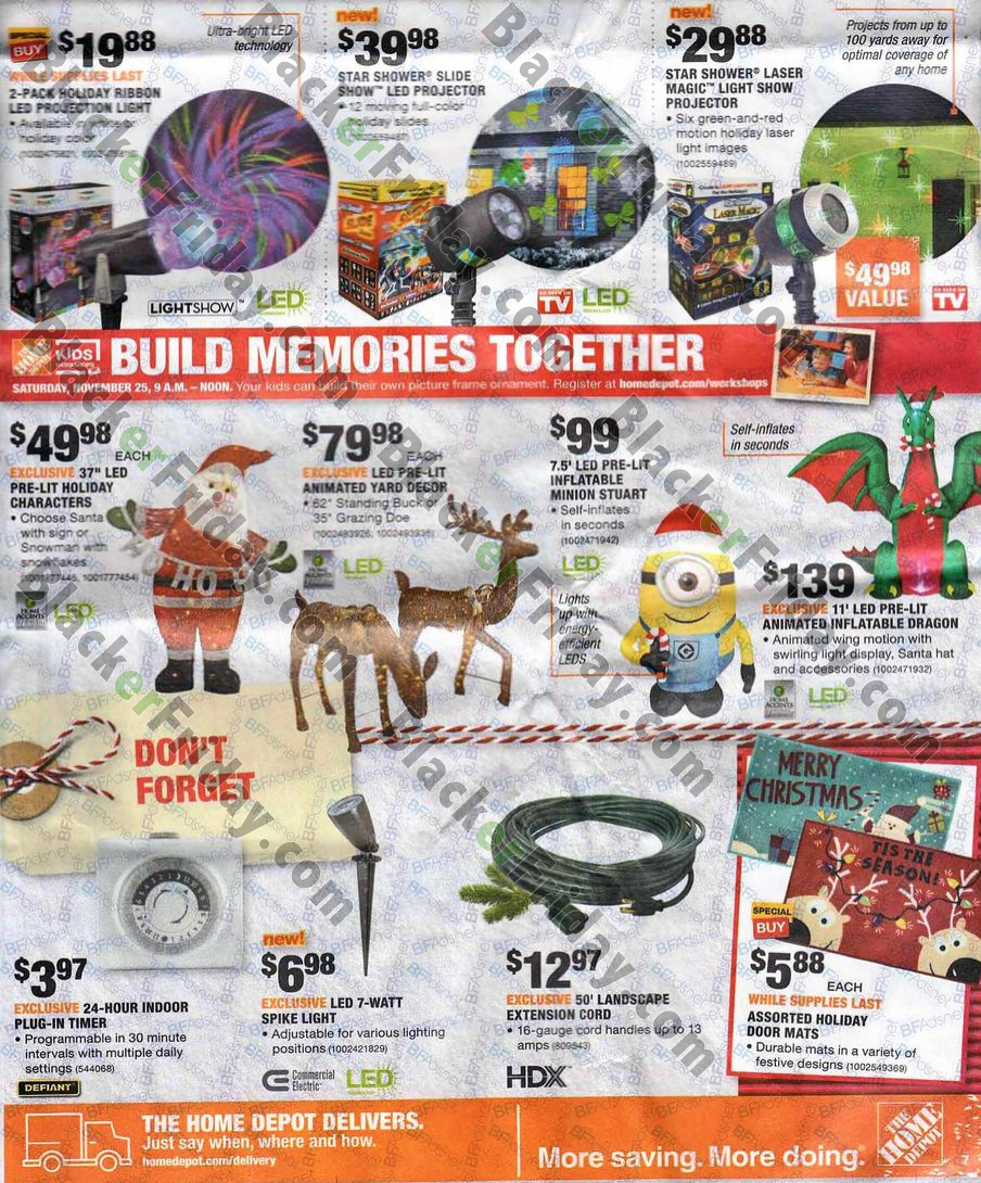 About the Home Depot Black Friday sale: As usual, Home Depot is one of the best Black Friday sales for huge discounts on major appliances, home improvement, tools, and gardening items. From custom paints, lighting, and home decor, to patio furniture, storage, and organization, you can update everything you need for the home at savings of /5().