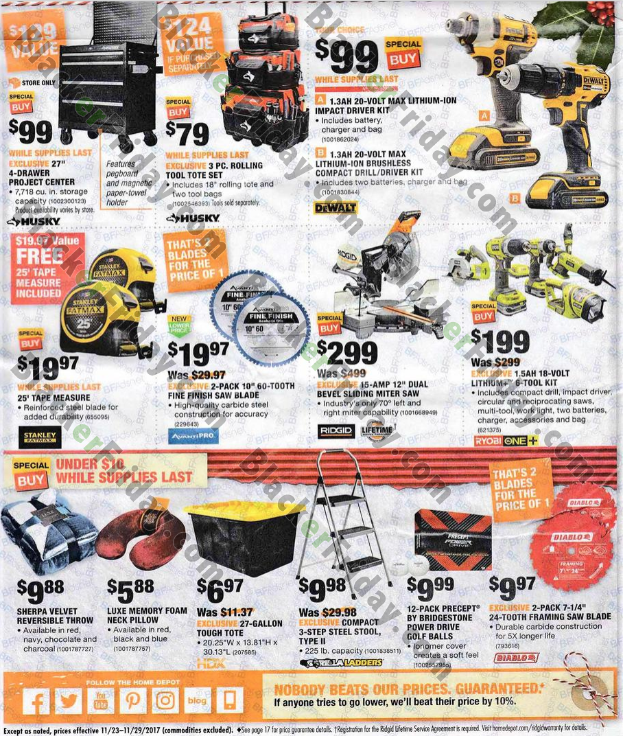 Home Depot deals can be found on countless of items storewide. We know sometimes you need it now, and can't wait for a furniture sale or a rug sale, or any of The Home Depot sales to find great values.