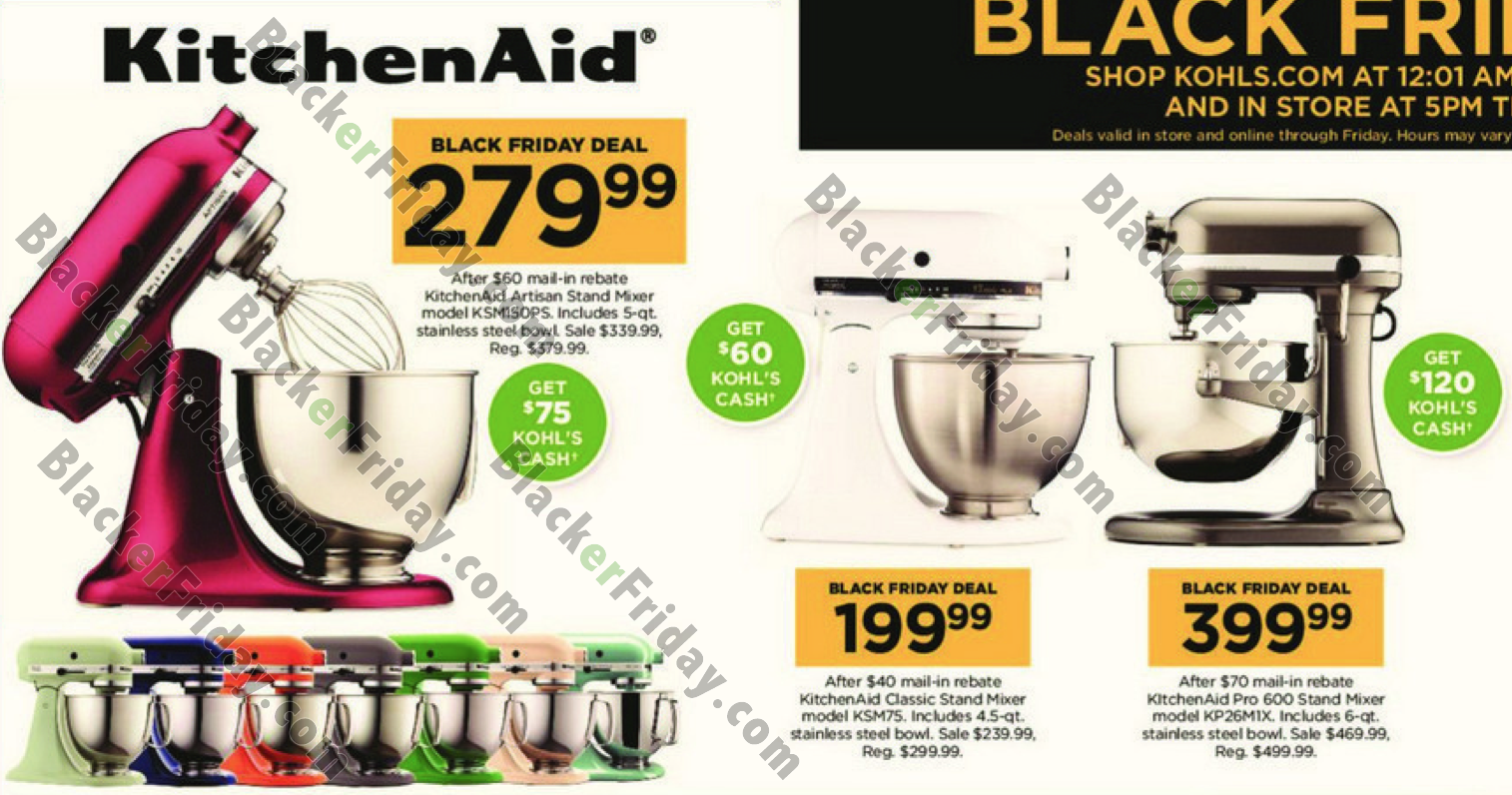 Kitchen Aid On Sales Black Friday