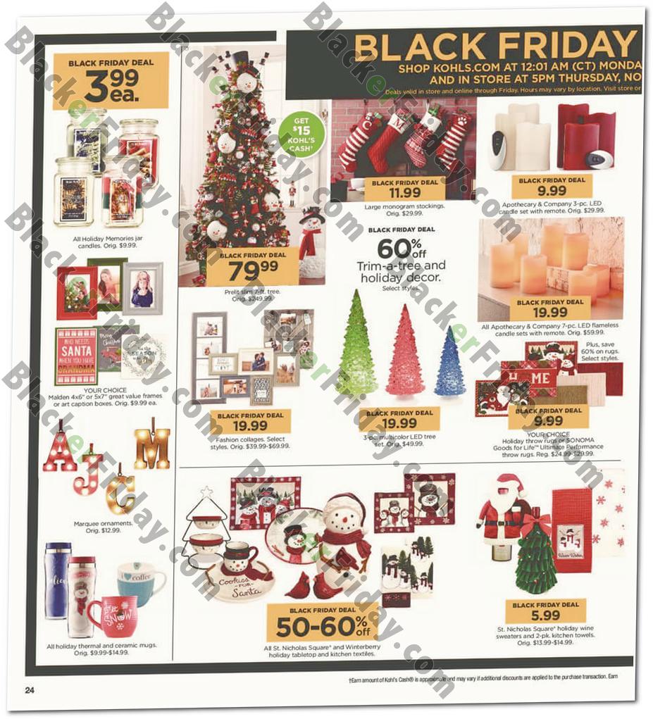 Kohl\'s Black Friday 2018 Sale & Ad Scan - Blacker Friday