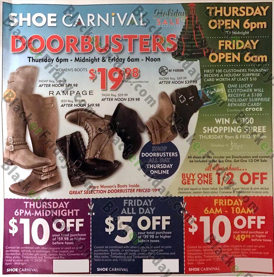 Shoe Carnival Black Friday 2020 Sale