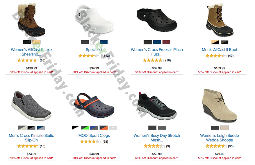 Crocs Black Friday 2021 Sale - What to