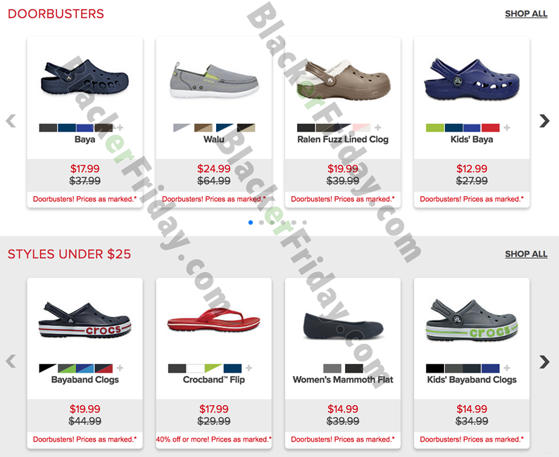 Crocs Cyber Monday 2020 Sale - What to