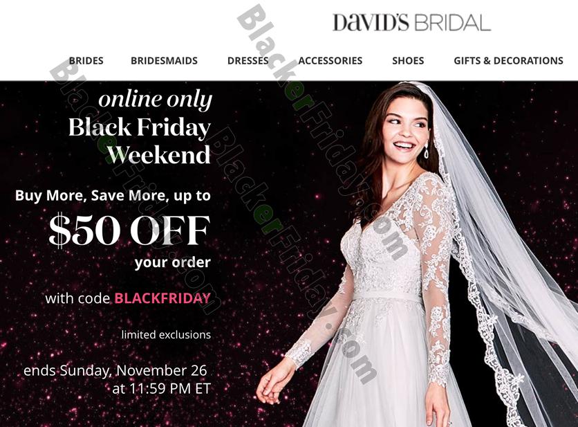 David S Bridal Black Friday 2019 Ad Sale Deals Blacker