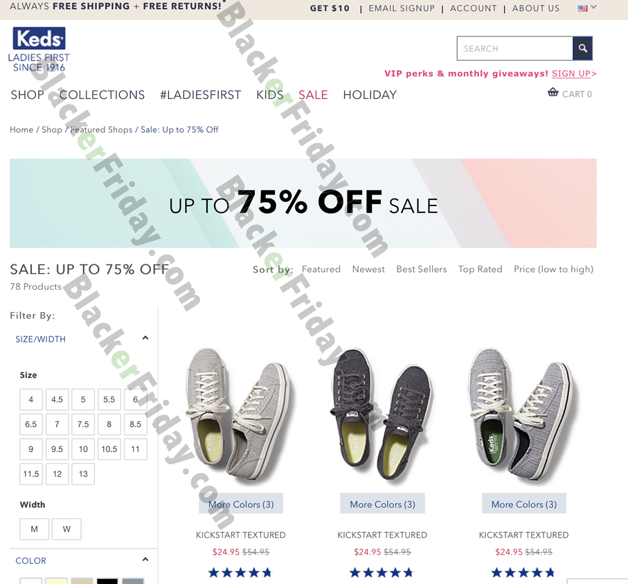 Keds Black Friday 2020 Sale - What to