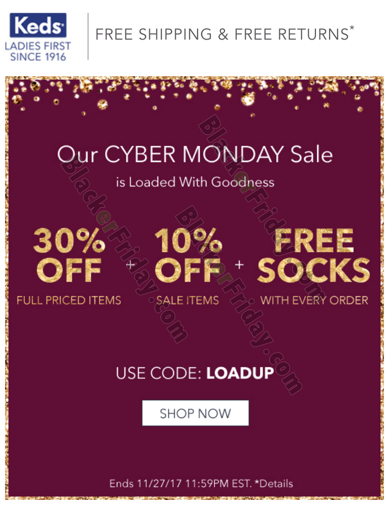 Keds Cyber Monday Sale 2020 - What to