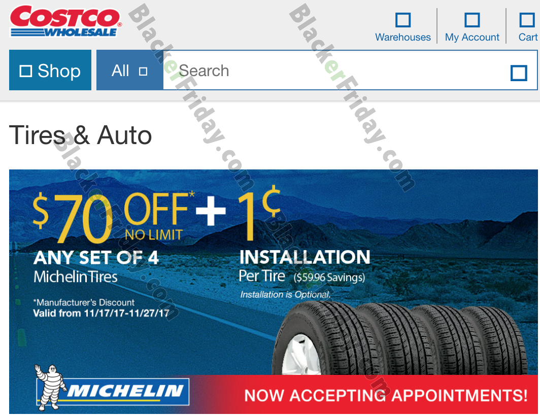 Michelin Tire Black Friday 2018 Sale Amp Deals Blacker Friday