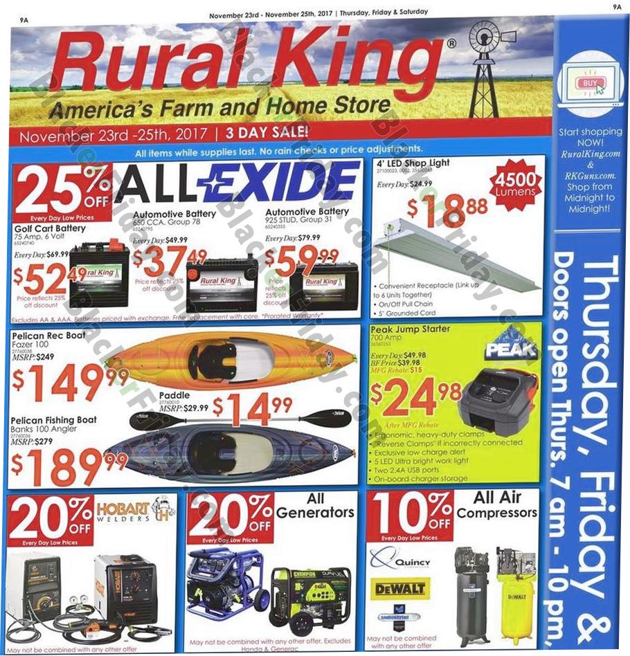 Rural King Air Compressor >> Rural King Black Friday 2019 Ad Sale Deals Blackerfriday Com