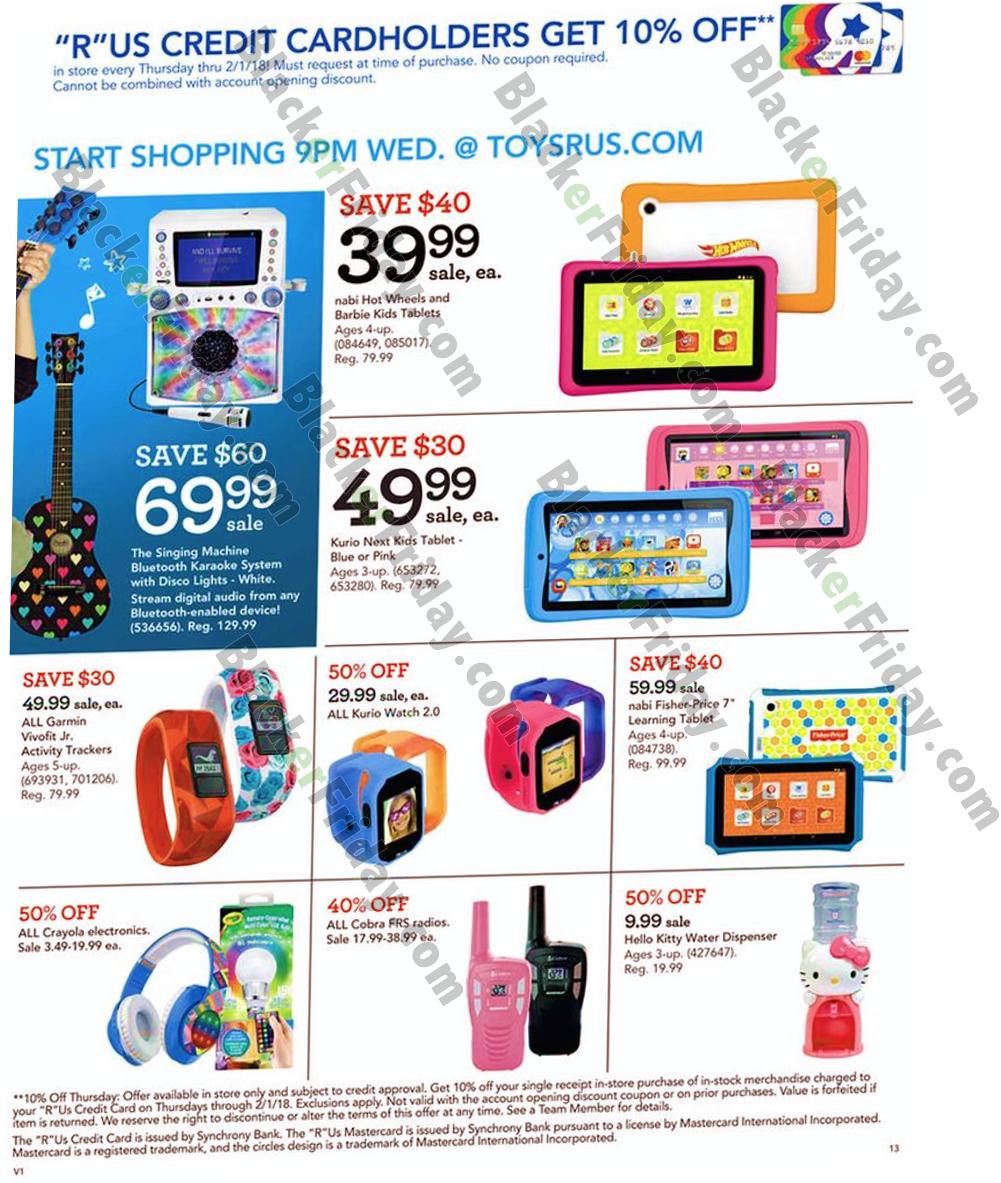 Toys R Us Black Friday 2018 Sale & Deals - Blacker Friday