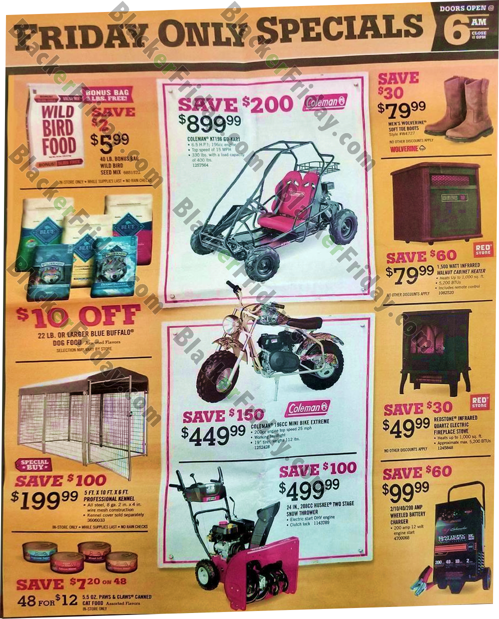 Tractor Supply Co  Black Friday 2019 Ad, Sale & Deals