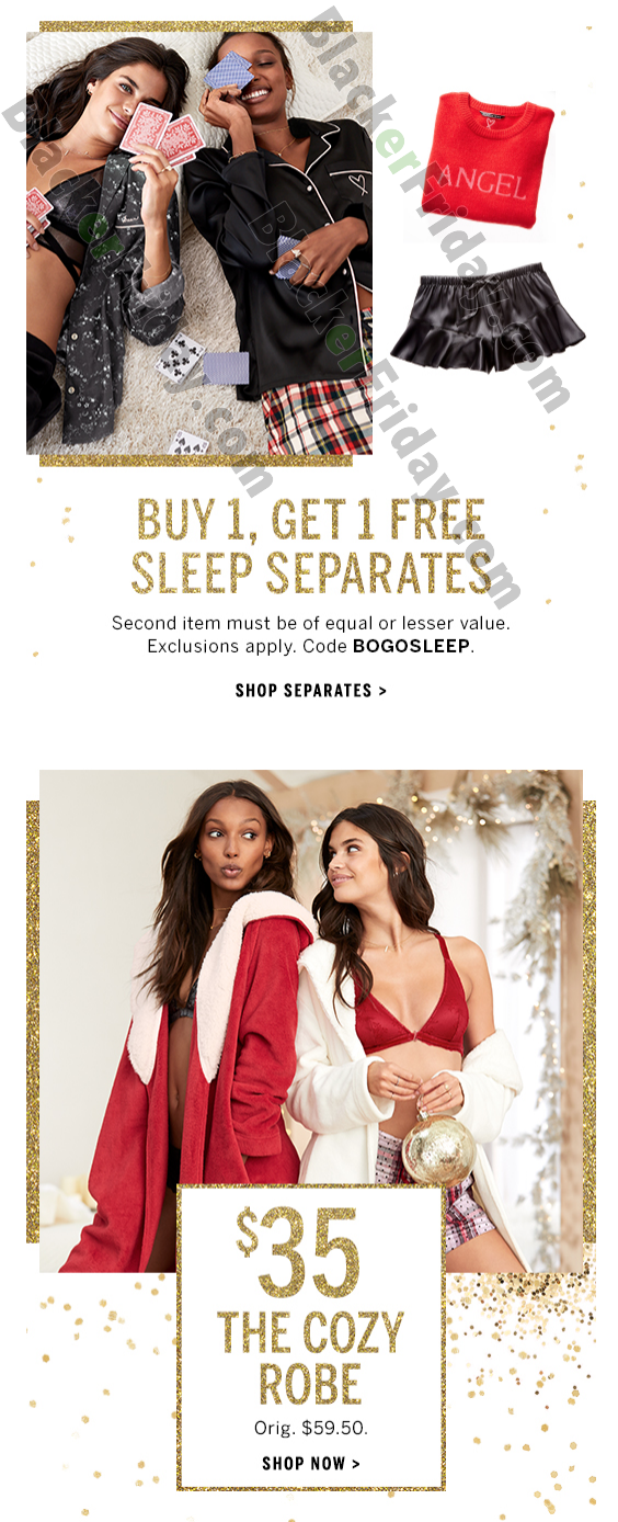 Accessories on Victoria's Secret Black Friday Sale. Victoria's secrets is a one-stop shop for all your needs. Shop for the best accessories from the store be it charms, bags, totes, wallets, beach towels etc. under this category.