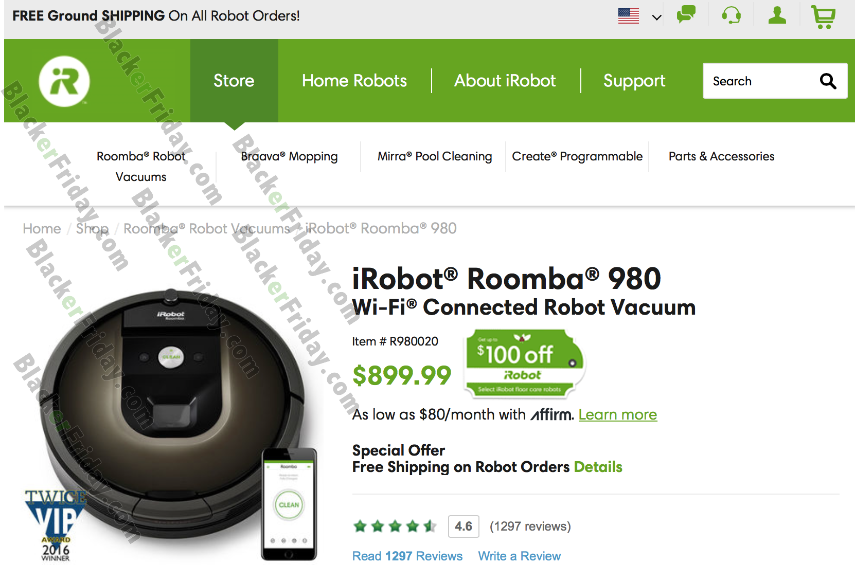 Irobot Roomba Black Friday 2018 Sale Amp Deals Blacker Friday