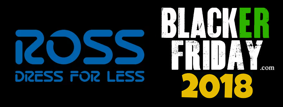 Have a look at the Ross black friday up to 60% sale and know the timings of Ross stores during black friday weekend The shopping graph in United States reaches at the peak during black friday shopping season. Ross Dress for Less is one of the biggest deal store that offer discounts on a .