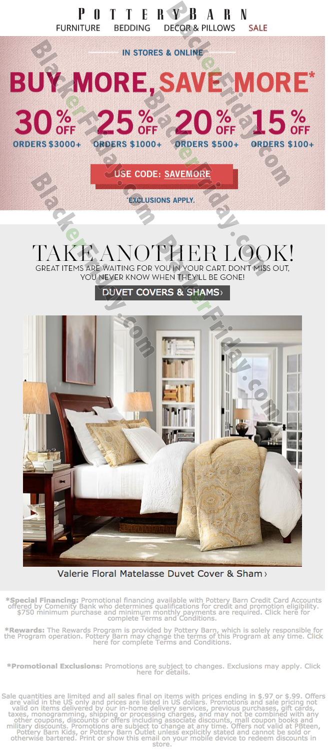 Pottery Barn Labor Day Sale 2020 Blacker Friday