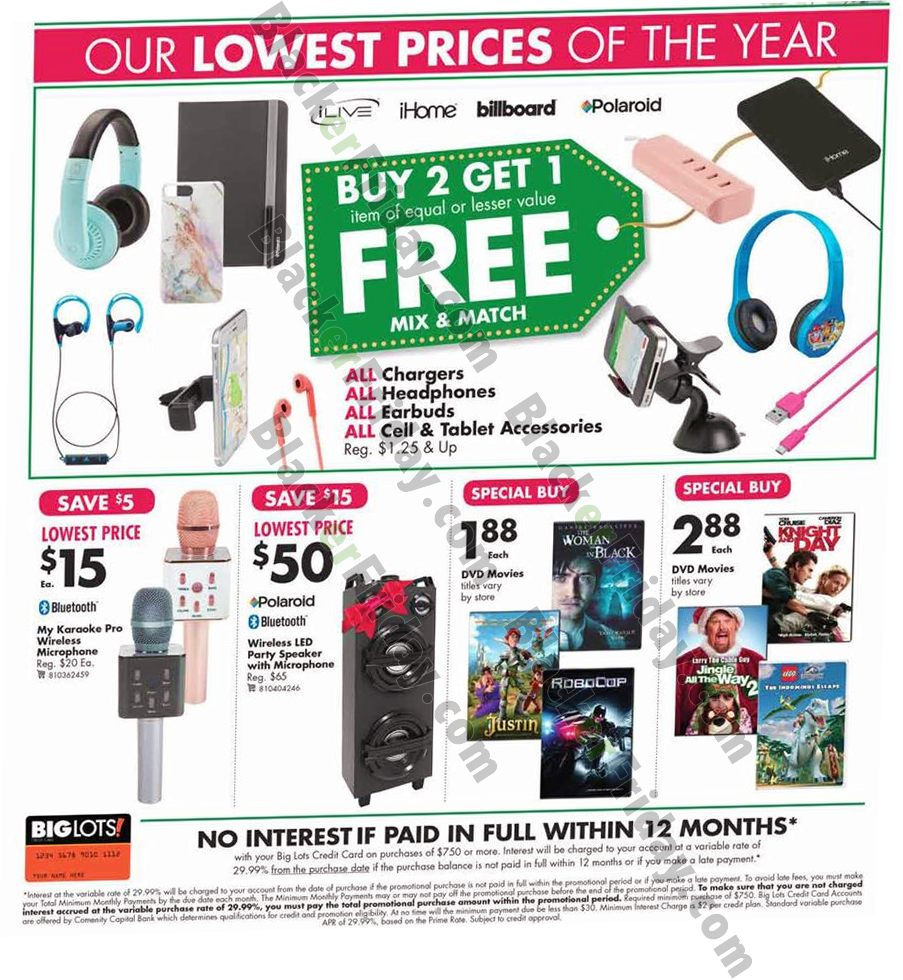 Big Lots Black Friday 2020 Ad Amp Sale What To Expect