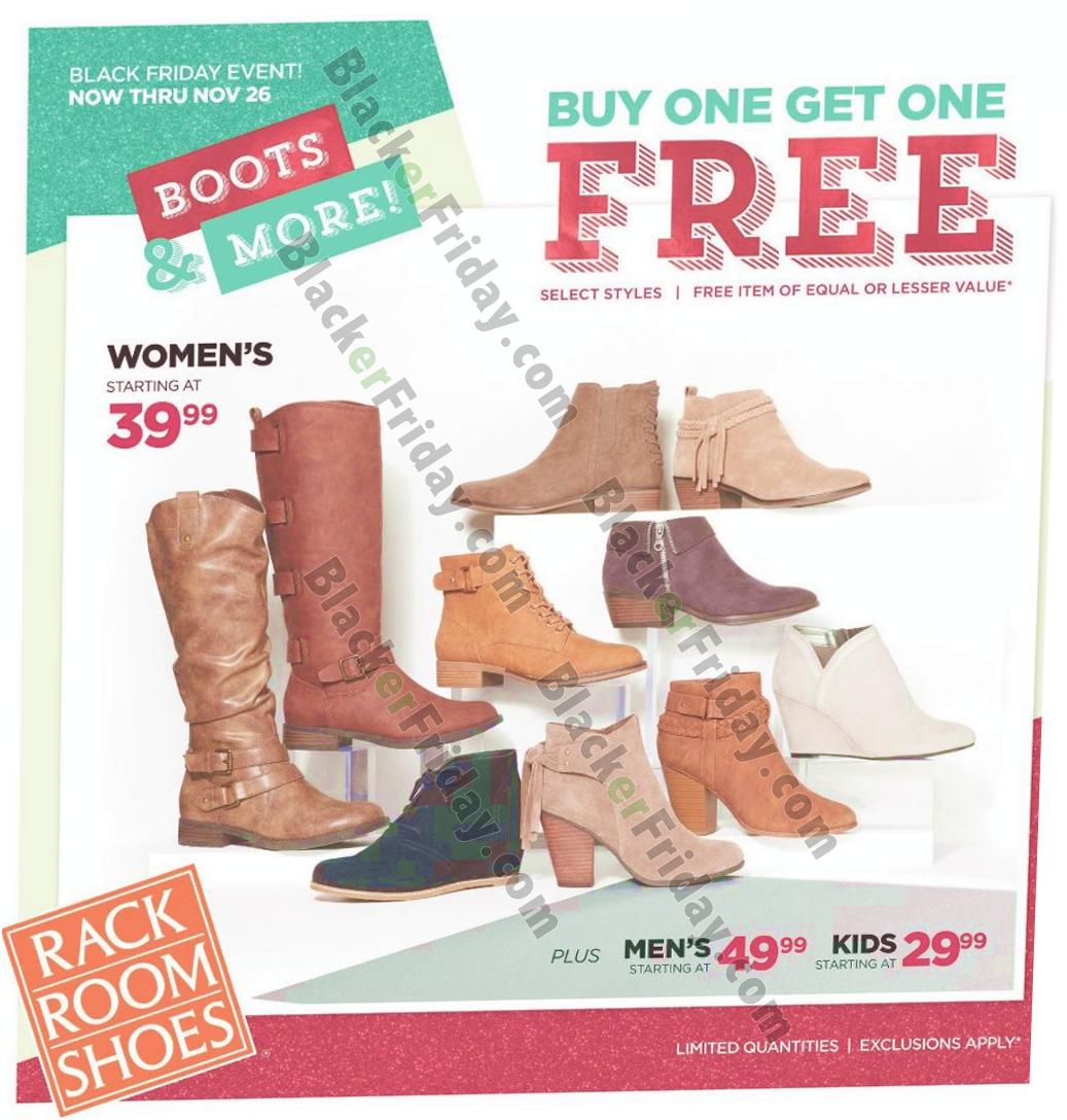 Rack Room Shoes Black Friday 2020 Sale