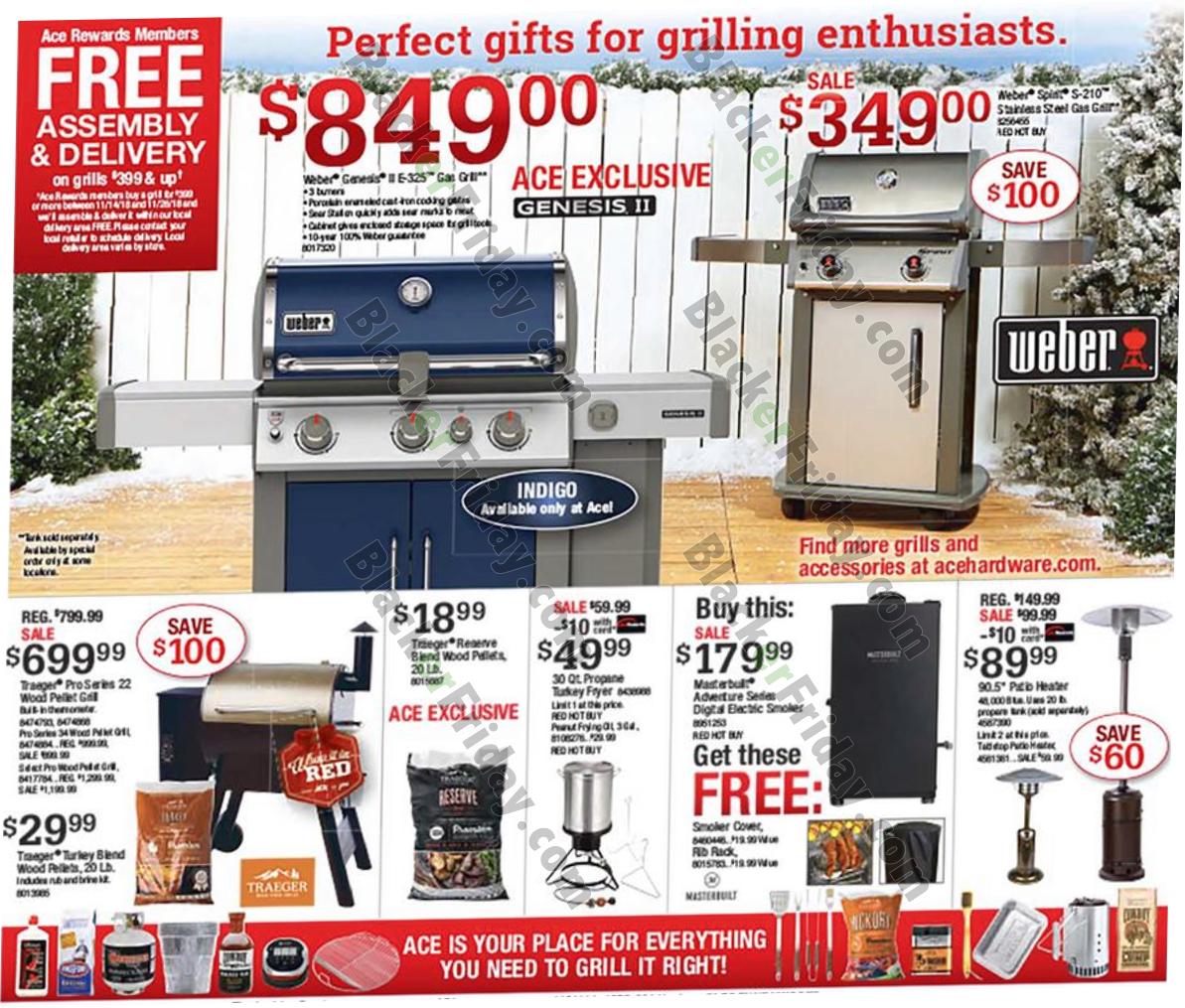 black friday pellet grill deals 2020