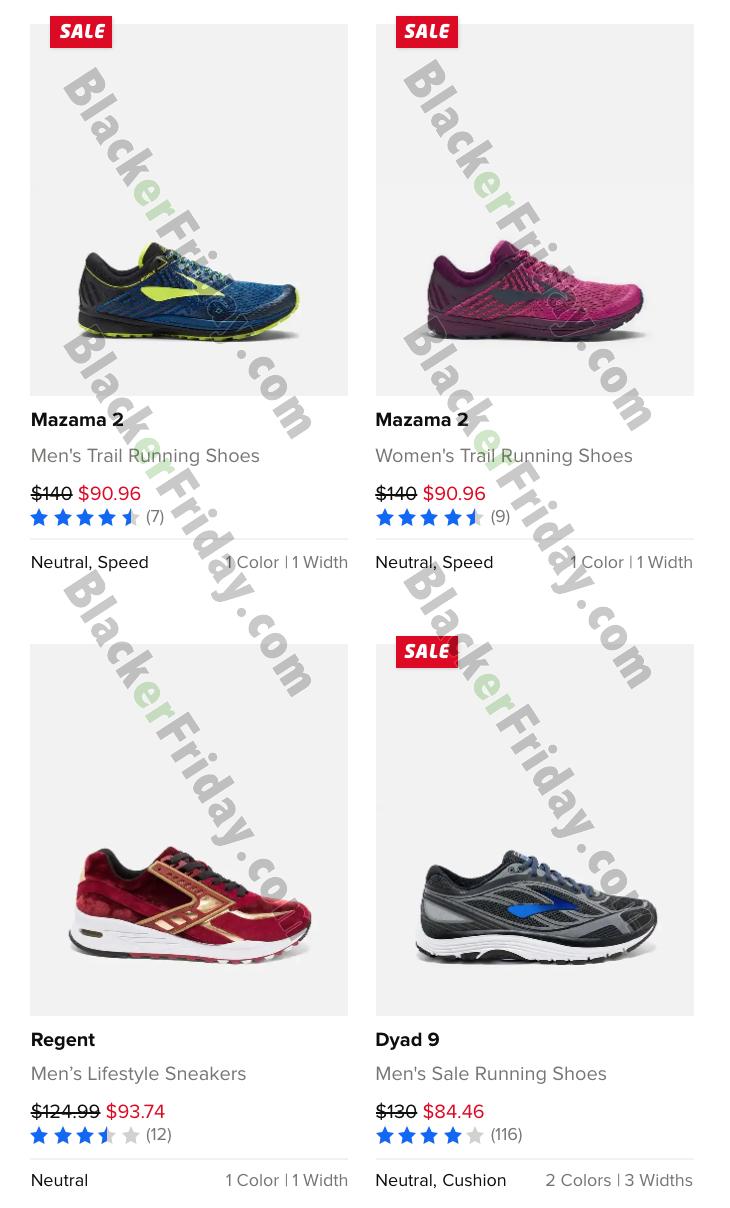 Brooks Running Shoes Black Friday 2020