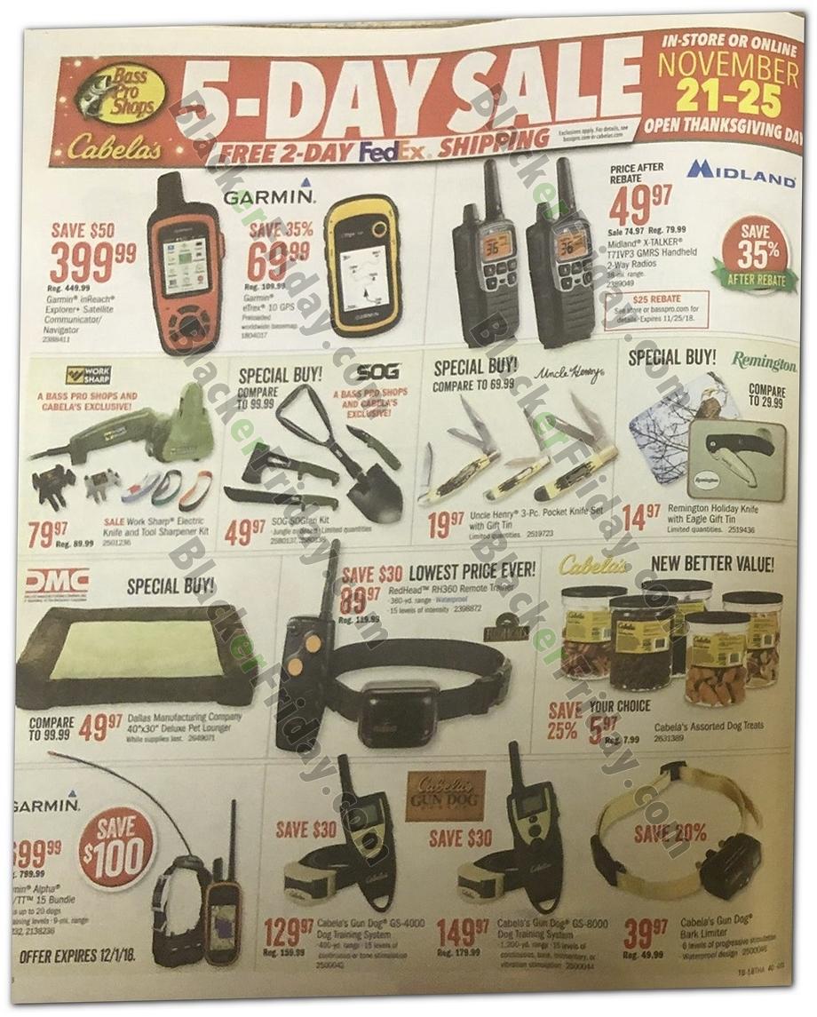 Cabela's Black Friday 2019 Ad, Sale & Deals - BlackerFriday com