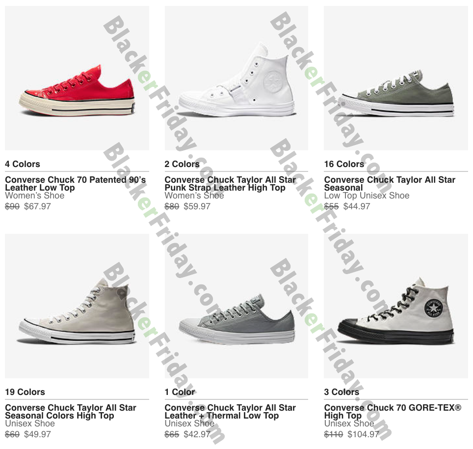 Converse Black Friday 2020 Sale What To Expect Blacker