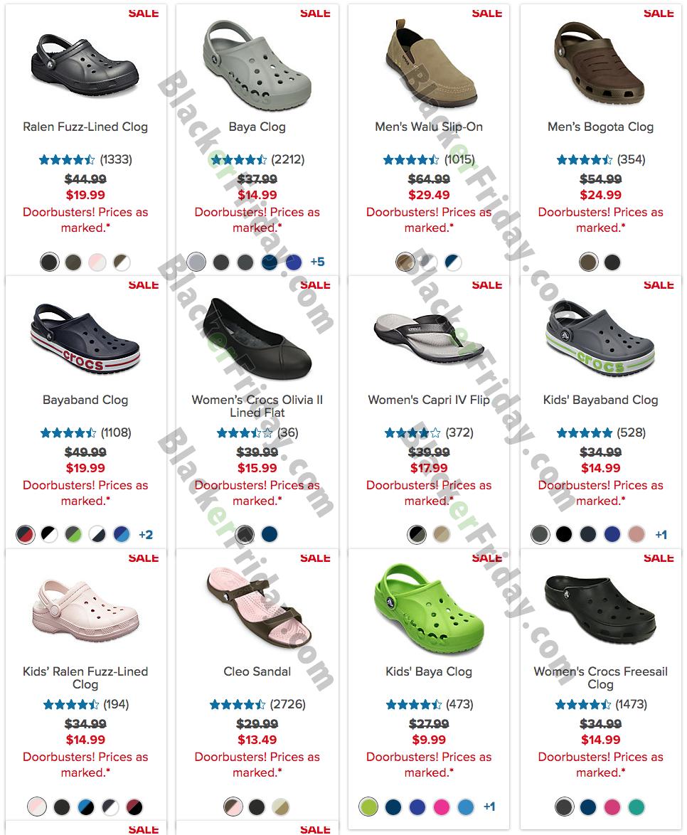 crocs sales 2019