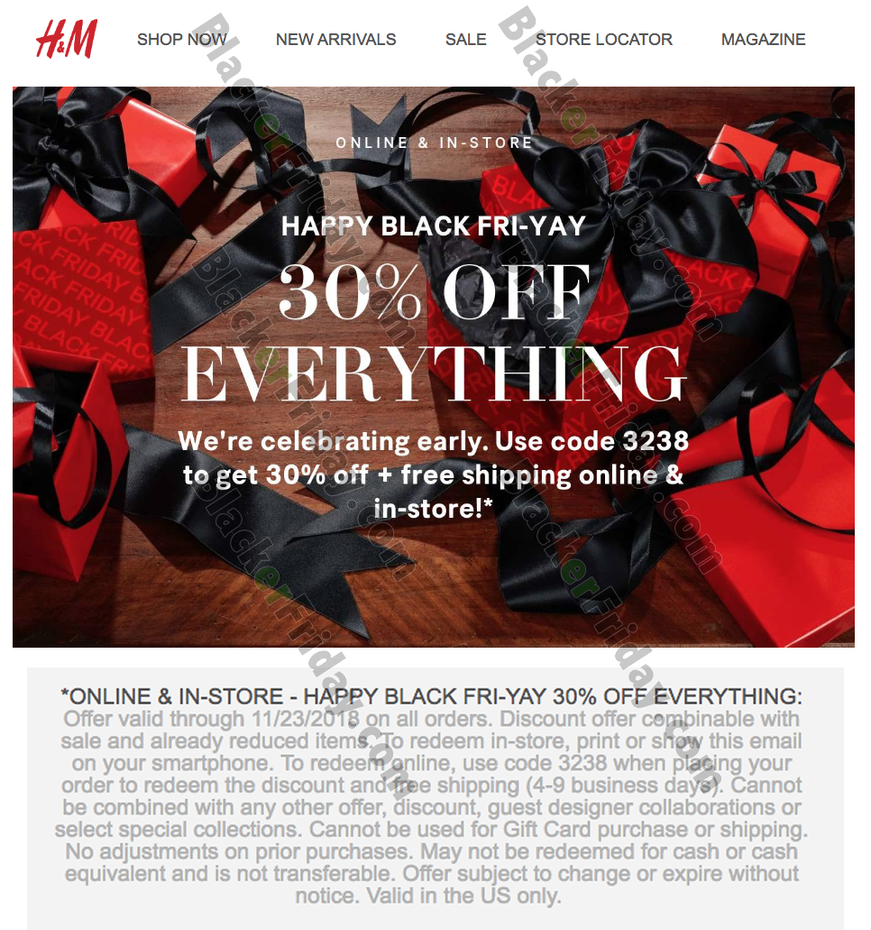 H M Black Friday 2020 Sale What To Expect Blacker Friday