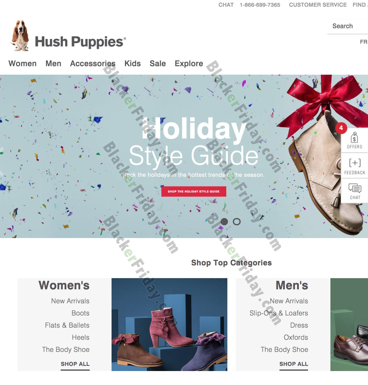 Hush Puppies Black Friday 2021 Sale